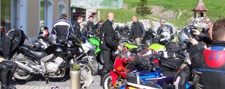 Particolarmente motociclistico Pernottamento all Berghotel Franzenshöhe 2188m di Trafoi
