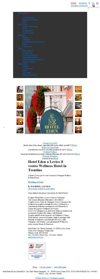 Fahrradfahrerfreundliches Hotel Eden in Levico Terme
