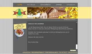 Fahrradfahrerfreundliches Gasthof Zur Linde in Schönau an der Brend