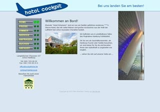 Fahrradfahrerfreundliches Hotel Cockpit in Hamburg