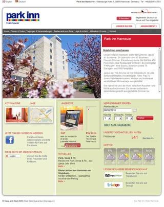 Fahrradfahrerfreundliches Mercure Hotel Hannover Oldenburger Allee in Hannover