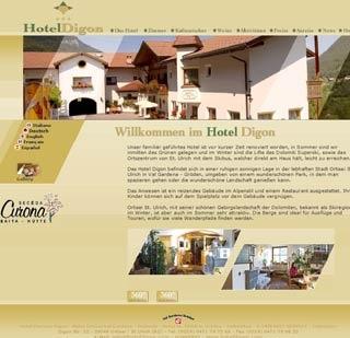 Fahrradfahrerfreundliches Hotel Digon in St. Ulrich - Grödental