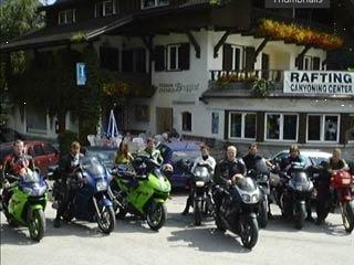 Particolarmente motociclistico Pernottamento all Biker´- Gasthof  Residence Brugghof di Sand in Taufers