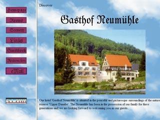 Fahrradfahrerfreundliches Hotel Gasthof Neumühle in Beuron - Thiergarten