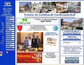 Fahrradfahrerfreundliches Hotel-Gasthof und Metzgerei Zum Bartl in Sulzbach Rosenberg