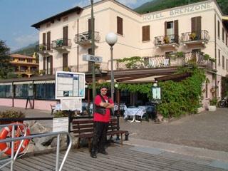 Particolarmente motociclistico Pernottamento all Hotel Brenzone & Villa del Lago di Brenzone