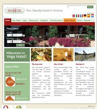 Fahrradfahrerfreundliches Vega Hotel in Bosco