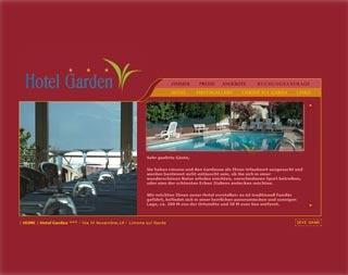Fahrradfahrerfreundliches Hotel Garden in Limone sul Garda