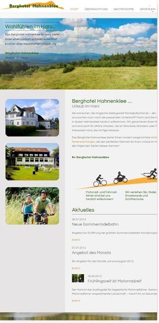 Fahrradfahrerfreundliches Berghotel Hahnenklee in Goslar - Hahnenklee