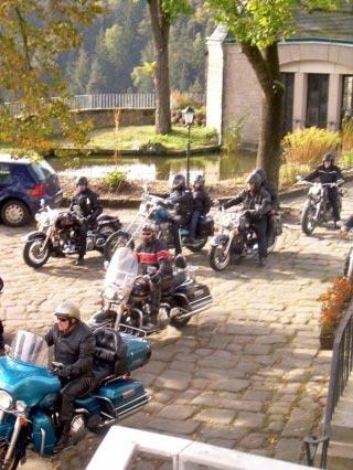 Particolarmente motociclistico Pernottamento all Burg Hohnstein di Hohnstein