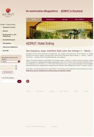 Fahrradfahrerfreundliches AZIMUT Hotel Erding in Erding / Aufhausen
