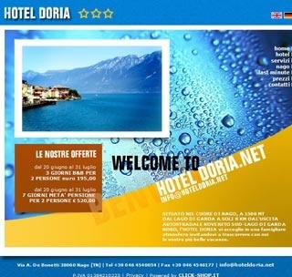Fahrradfahrerfreundliches Hotel Doria in Nago