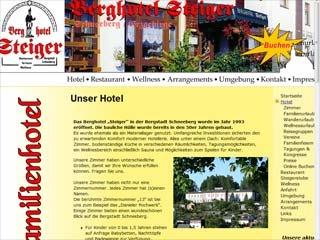 Fahrradfahrerfreundliches Berghotel Steiger in Schneeberg