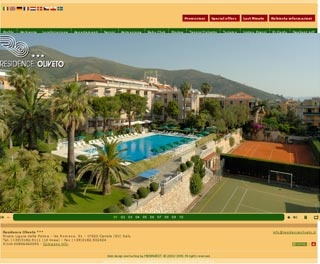 Fahrradfahrerfreundliches Hotel Residence Oliveto in Ceriale (SV)