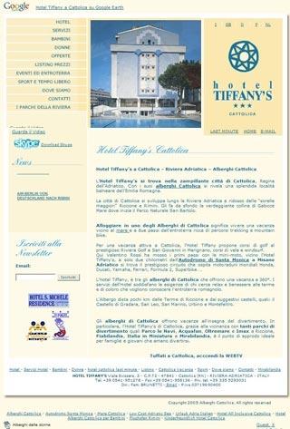 Fahrradfahrerfreundliches Hotel Tiffany´s in Cattolica (RN)