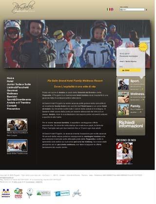 Fahrradfahrerfreundliches Piz Galin Grand Hotel in Andalo (Tn)