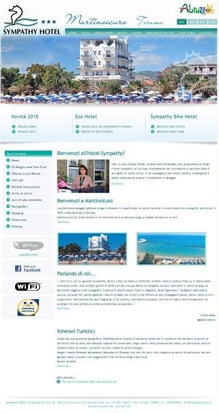 Fahrradfahrerfreundliches Hotel  Sympathy in Martinsicuro (TE)