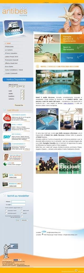 Fahrradfahrerfreundliches Hotel Antibes in Riccione (RN)