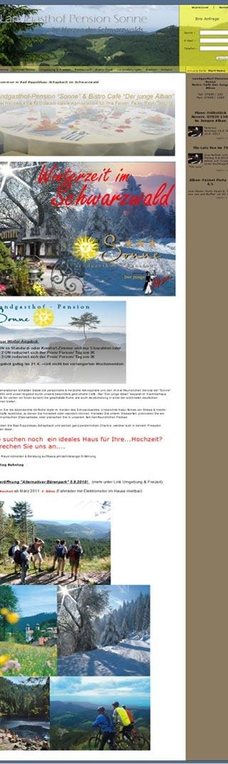 Fahrradfahrerfreundliches Hotel ALBANS Sonne in Bad Rippoldsau-Schapbach