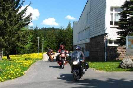 Particolarmente motociclistico Pernottamento all Werrapark Resort di Masserberg