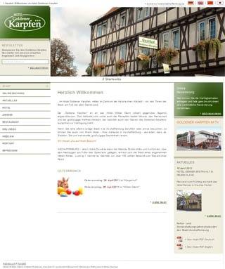 Fahrradfahrerfreundliches Hotel Goldener Karpfen in Aschaffenburg