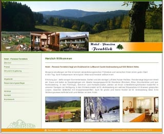 Fahrradfahrerfreundliches Hotel Pension Fernblick in Sankt Andreasberg