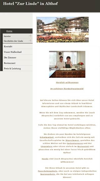 Fahrradfahrerfreundliches Hotel - Restaurant Zur Linde in Bad Herrenalb