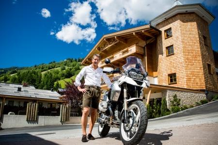 Particolarmente motociclistico Pernottamento all Hotel Sonnegg di Saalbach