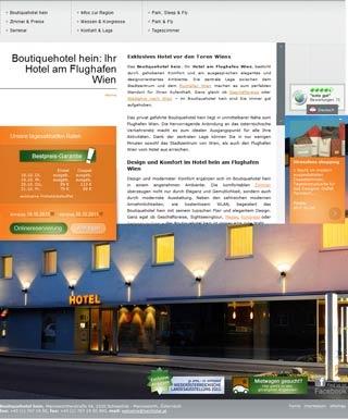 Fahrradfahrerfreundliches Airport Boutiquehotel Hein in Schwechat