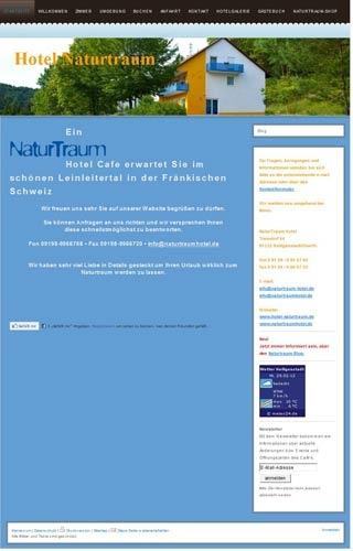 Fahrradfahrerfreundliches Hotel Naturtraum in Heiligenstadt