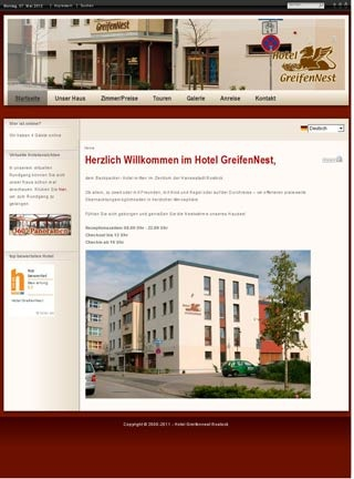 fahrrad backpacker hotel greifennest in rostock. Black Bedroom Furniture Sets. Home Design Ideas