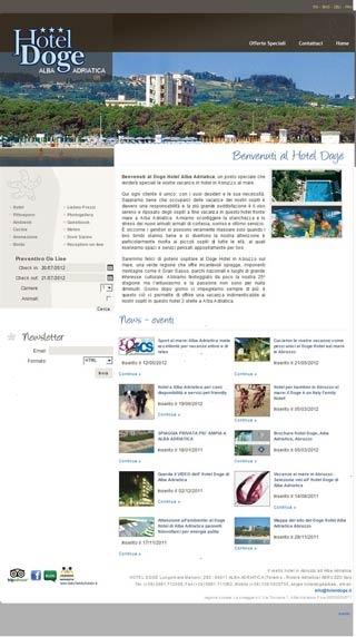 Fahrradfahrerfreundliches Hotel Doge in Alba Adriatica (TE)