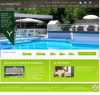 Fahrradfahrerfreundliches Hotel Helvetia Parco in Viserbella, Rimini (RN)