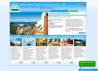 Fahrradfahrerfreundliches Hotel Terme Michelangelo in Lacco Ameno d Ischia