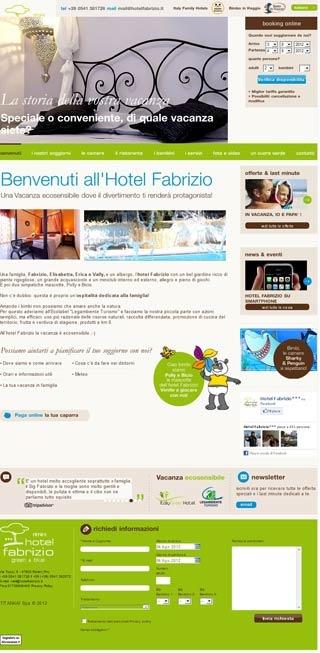 Fahrradfahrerfreundliches Hotel Fabrizio in Rimini (RN)