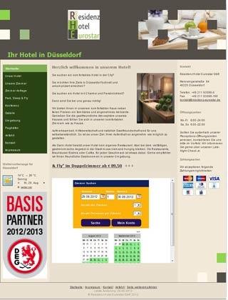 Fahrradfahrerfreundliches Residenz Hotel Eurostar in Düsseldorf