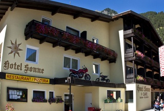 Motorrad Hotel Sonne in Pfunds in Pfunds in