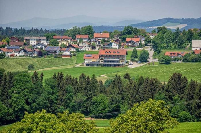 Motorrad Landrefugium Obermüller Balancehotel in Untergriesbach in Bayerischer Wald