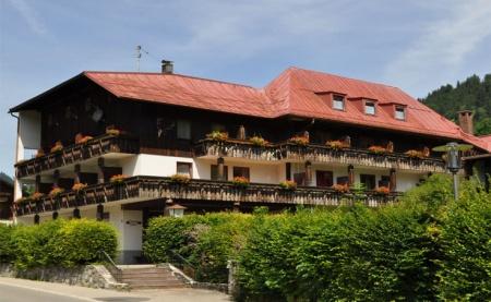 Motorrad Ferienhotel Waidmannsheil in Bad Hindelang in Allgäu