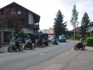 Motorrad Ferienwohnanlage Prinzenhof in Sankt Andreasberg in Harz