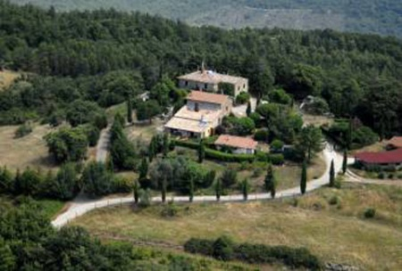Motorrad Agriturismo Pomantello in Torre Alfina in