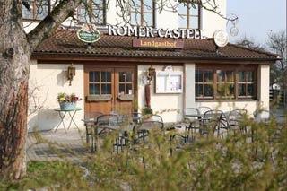 Motorrad Landgasthof Römer-Castell in Kipfenberg / Böhming in Naturpark Altmühltal