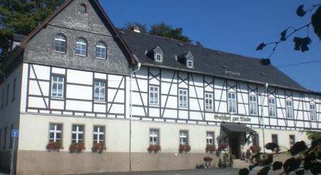 Motorrad Gasthof zur Linde in Amtsberg / OT Weißbach in Erzgebirge