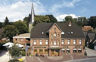 Motorrad Hotel-Restaurant Hollenstedter Hof in Hollenstedt in