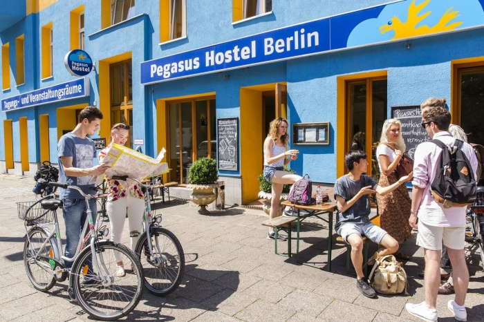 Hotel for Biker Pegasus Hostel in Berlin in Berlin