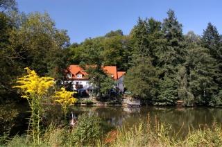 Motorrad Hotel Haus am See in Schleusingen in Thüringer Wald