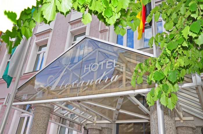 Motorrad Hotel Alexandra in Plauen in Vogtland