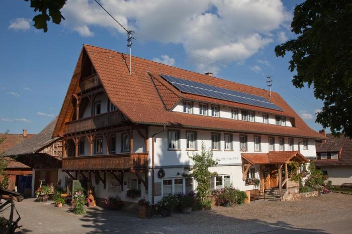 Hotel for Biker Pension Baarblick in Donaueschingen / Hubertshofen in Südlicher Schwarzwald