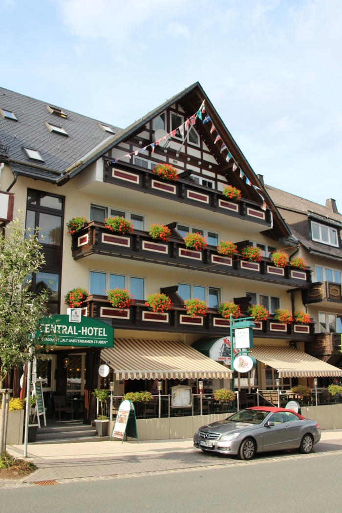Hotel for Biker Central Hotel - Restaurant in Winterberg in Sauerland