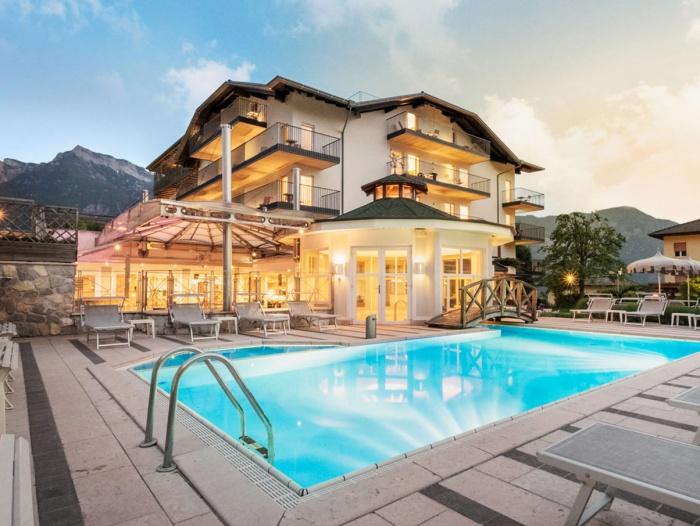 Motorrad Sport und Wellness Hotel Cristallo in Levico Terme (TN) in Levico Terme